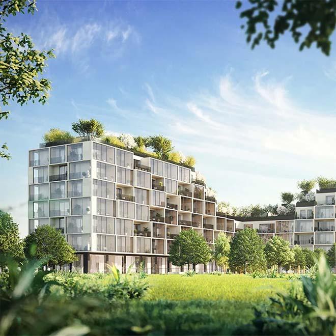 Antwerpen krijgt stadsbos in de hoogte