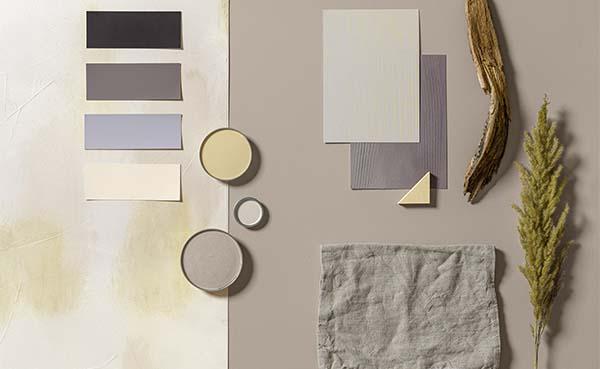 De trendkleur van 2021 volgens Caparol is Dune beige Palazzo 110
