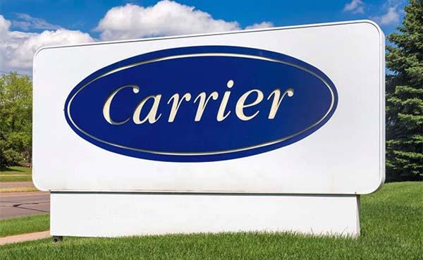 Carrier stuurt aan op verkleining van CO2 voetafdruk met meer dan één Gigaton