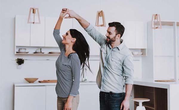Dansen in de keuken