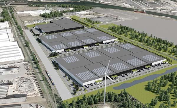 Elke dag komt er 1.644 vierkante meter magazijnruimte in België bij