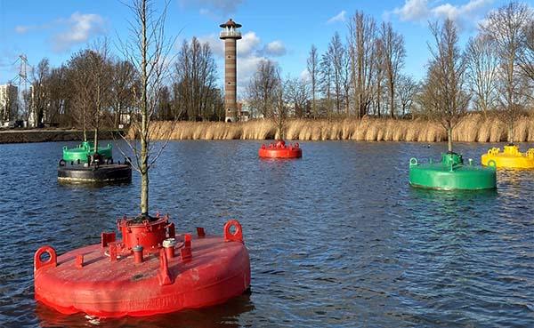 Dobberend Bos drijft bij Floriade Expo 2022 in Almere