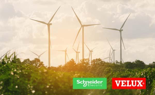 Schneider Electric en Velux Group kondigen partnerschap aan