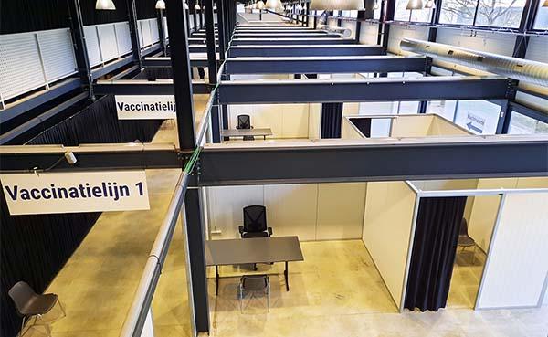 Veldeman zorgt voor infrastructuur en inrichting vaccinatiecentra