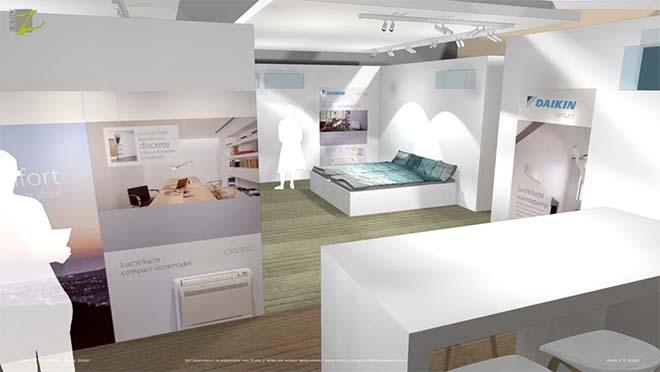 Daikin opent Showroom in Wavre