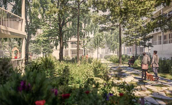 Oude AstraZeneca en Therabel-site maakt plaats voor groene woonomgeving