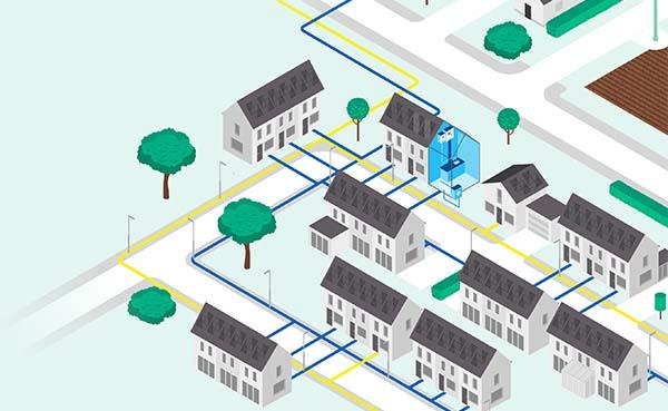 Nederlandse woonwijk uit jaren 70 gaat over op waterstof