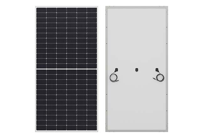 PV-zonnepaneel van 445 watt met half-cut-cellen