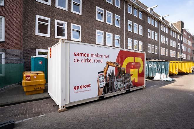 80 procent van materiaal uit drie Amsterdamse sloopprojecten wordt hergebruikt