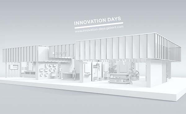 Geberit Innovation Days van 7 tot 9 april 2021