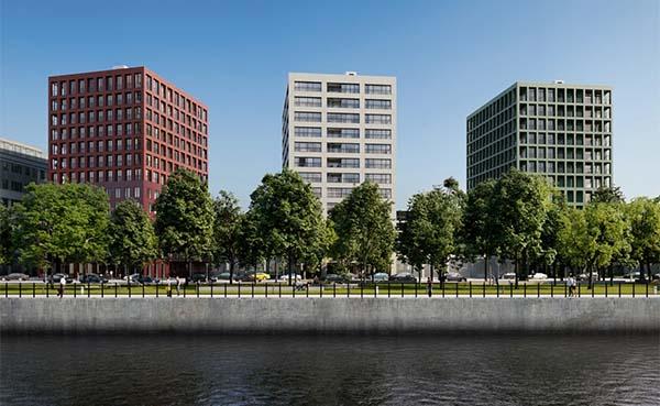 KBC-kantoren aan het Kanaal in Brussel krijgen een nieuwe toekomst