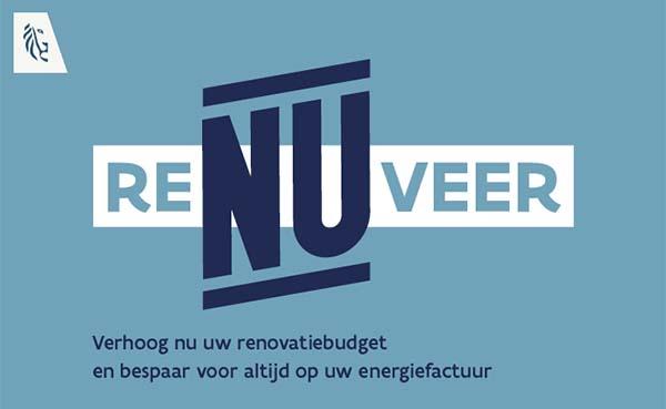Vlaamse overheid start campagne reNUveren