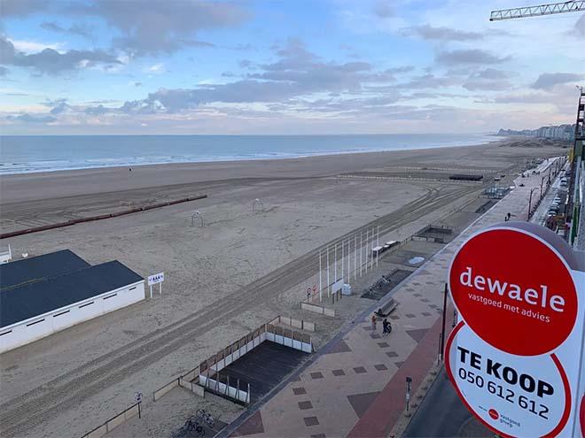 Vastgoed aan de kust gemiddeld 34.000 euro duurder geworden