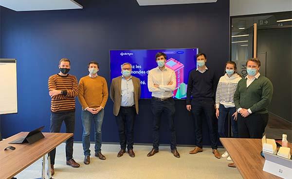 De jonge en veelbelovende start-up Syndic4you komt naar Vlaanderen