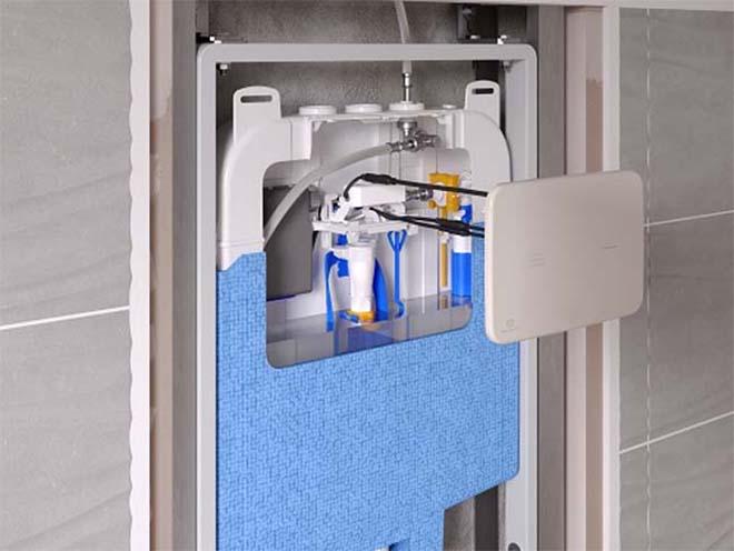 SmartFlush, een nieuw niveau van reinigen