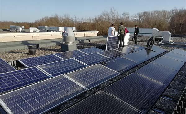 Hogeschool PXL erkend als opleidings- en examencentrum zonne-energiesystemen