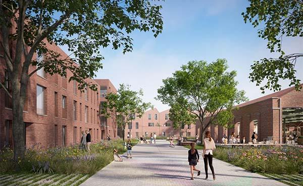 Plannen tweede fase Saffrou-site in Oudenaarde uit de doeken