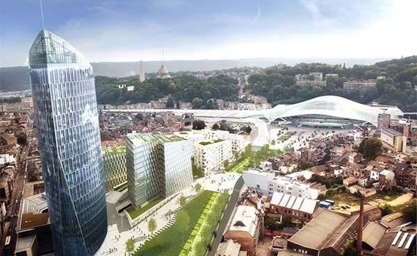 YUST start bouw van eerste citylofts van Wallonië