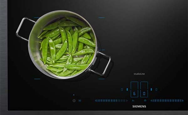 Siemens inductiekookplaat met activeLight