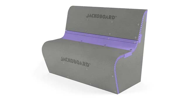 De S-Kits van Jackoboard geven de badkamer een nieuwe vorm