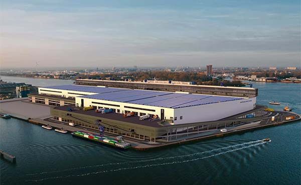 Bouw Amsterdam Logistic Cityhub gestart