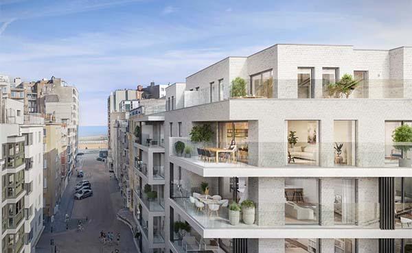 Woonproject Zephyr zorgt voor verdere opwaardering van Oostendse binnenstad
