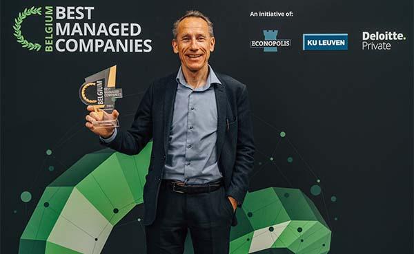 Vandersanden wint voor vierde jaar op rij Deloitte Best Managed Company label