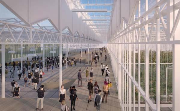 Bom Group en V8 Architects tekenen voor het Kascomplex bij Floriade Expo 2022