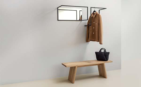 Om in te lijsten: Frame wandkapstok, spiegel en paraplubak