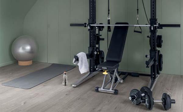 Krachtig ingerichte home gyms: design als evenknie van het sportieve