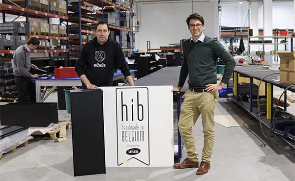 eSafe design pakketbrievenbussen krijgen 'Handmade In Belgium' label