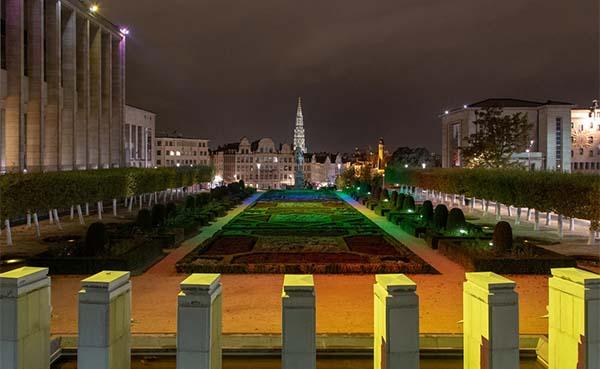 Brussels Gewest en Sibelga sluiten akkoord om Brussel sfeervol te verlichten