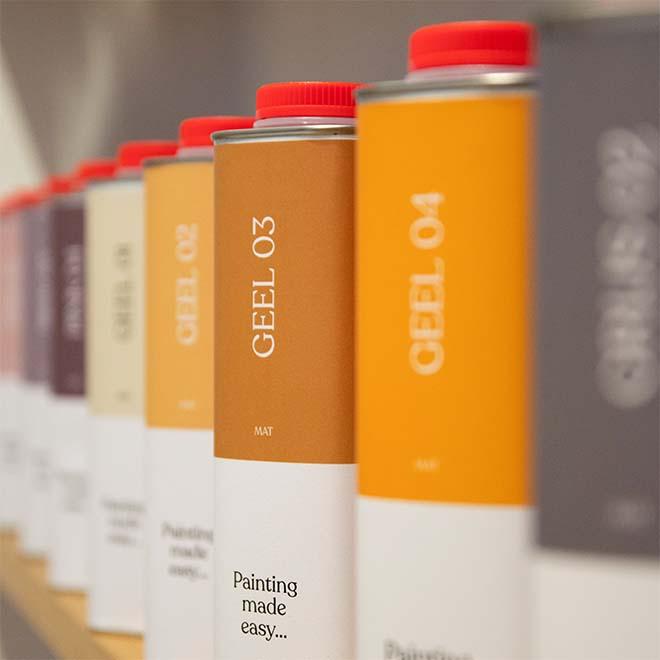 Verfblik ontworpen door Vlaamse ontwerpstudio Glimp genomineerd door European Design Awards