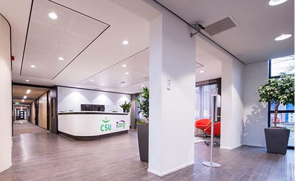 Hier vind je de perfecte duurzame verlichting voor jouw kantoor
