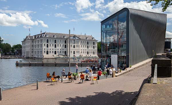 Bomvol, coronaproof, programma tijdens Dag van de Architectuur Amsterdam