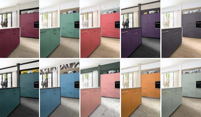 Mobalpa - Kleur in de keuken