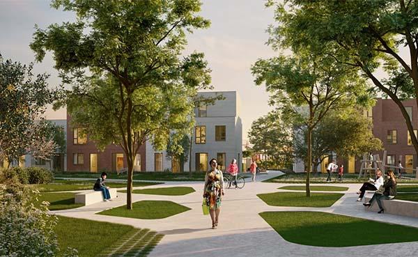 Centrum van Eeklo krijgt er met Molenpark een groene woonbuurt bij