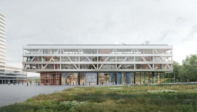 nieuwe VRT-gebouw
