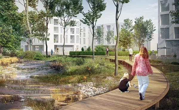 Stad Brussel: Van Praet wordt klimaatwijk