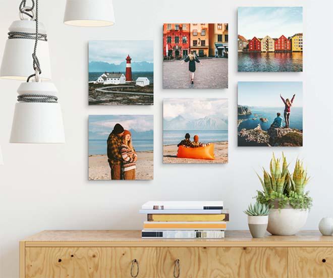 6 tips bij het creëren van een perfecte gallery wall