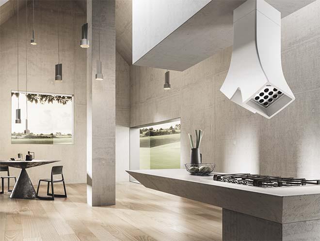 Elica toont ambitie op Belgische markt met designdampkappen
