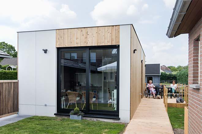 B&R Bouwgroep plaatst eerste modulaire mantelzorgunit in Hechtel-Eksel