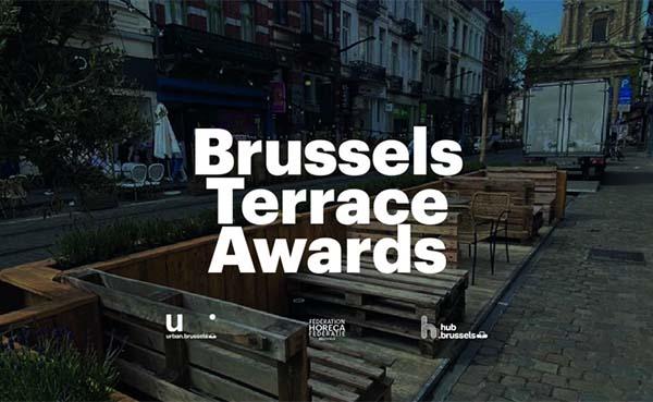De Brussels Terrace Awards belonen de mooiste terrasjes op parkeerplaatsen