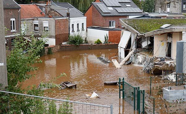 Daikin Europe Groep steunt de slachtoffers van de overstromingen