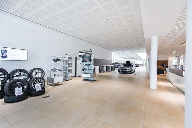 Totale Daikin HVAC-oplossing voor moderne BMW-garage te Aalst