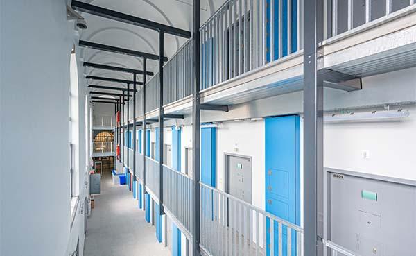 Gevangenis van Namen: de renovatie van de 3de vleugel is afgerond