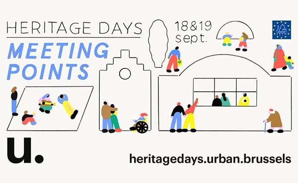 Dit weekend organiseert Brussel de Heritage Days