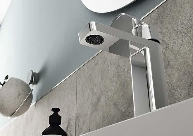 Stijlvol en duurzaam in de badkamer met Hansastela touchless kranen