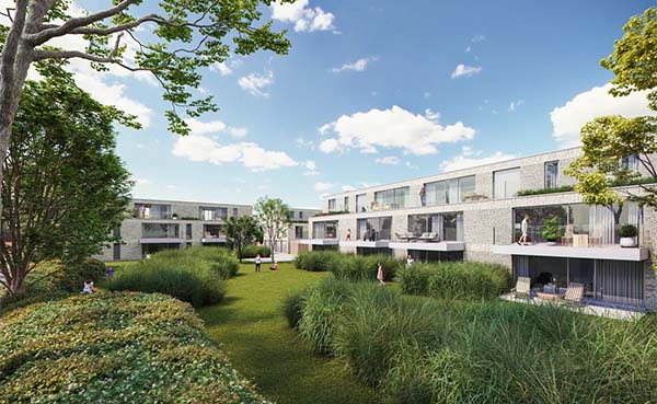 Residentie Puttemanshof in Lebbeke krijgt parktuin van liefst 35 are