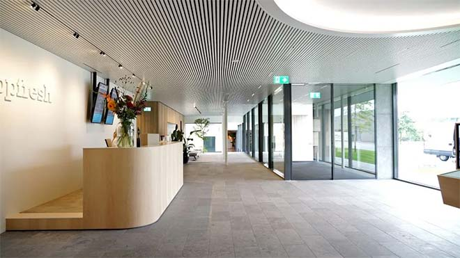 Hunter Douglas Architectural metalen binnenplafond